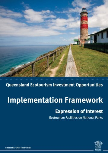 Ecotourism Facilities on National Parks - Implementation Framework