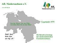 Vortrag - AfL Niedersachsen eV