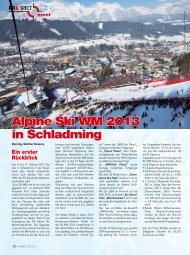 Alpine Ski WM 2013 in Schladming