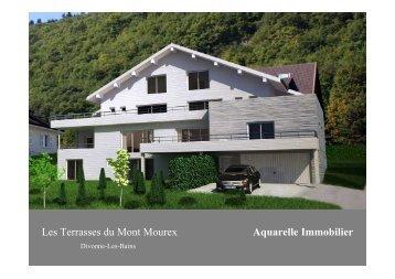 Les Terrasses du Mont Mourex Aquarelle Immobilier - Webagoo.eu