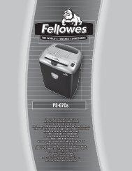 PS-67Cs - Fellowes