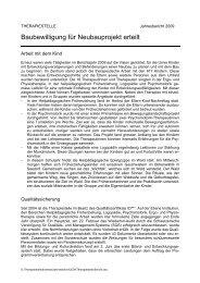 Jahresbericht 2009 - Heilpädagogisches Zentrum Uri