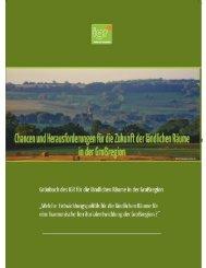 Chancen und Herausforderungen für die Zukunft der ländlichen Räume in der Großregion
