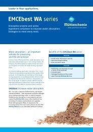 EMCEbest WA series - Mühlenchemie GmbH & Co. KG