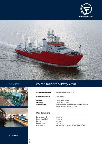 SSV 65 - Fr. Fassmer GmbH & Co. KG
