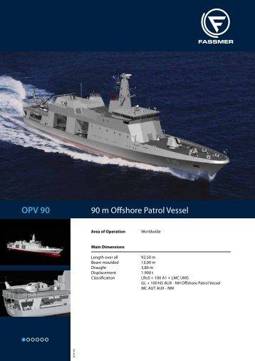 OPV 90 - Fr. Fassmer GmbH & Co. KG