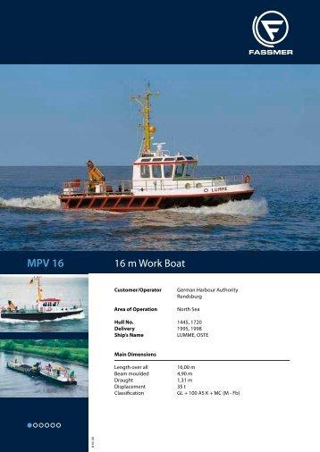 MPV 16 - Fr. Fassmer GmbH & Co. KG
