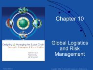Chapter 10. Global Logistics and Risk Management