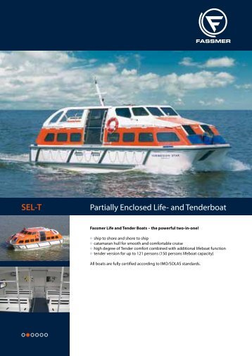 SEL-T Partially Enclosed Life - Fr. Fassmer GmbH & Co. KG