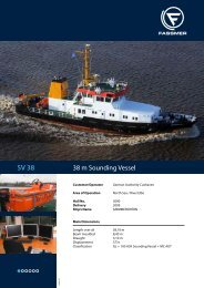 38 m Sounding Vessel - Fr. Fassmer GmbH & Co. KG