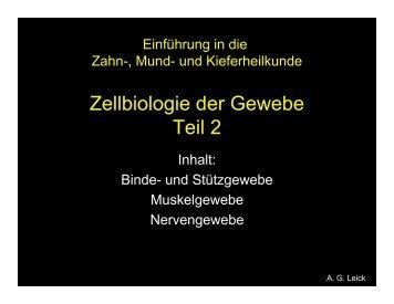 Gewebe II (A.G.Leick)