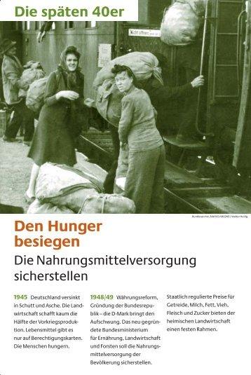 Den Hunger besiegen - Bundesministerium für Ernährung ...