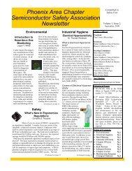 SESHA Phoenix Area Chapter Newsletter - September 2000 (.pdf)