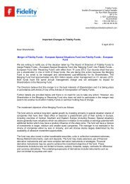 Investor Notice 5-4-2013 - Fidelity Investments