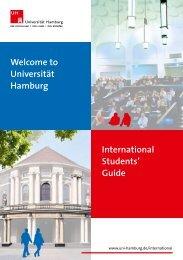 Welcome to Universität Hamburg International Students' Guide