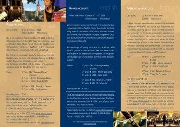 intermusica 2008 folder gold