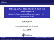 Using a Linux-based System from the Command Line - Laboratorio ...