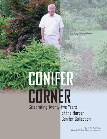 Celebrating Twenty-five Years of the Harper Conifer Collection