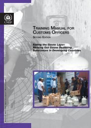Training Manual for Customs Officers, Second Edition - DTIE