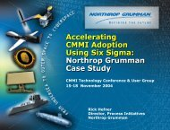 Accelerating CMMI Adoption Using Six Sigma ... - CMMI Institute