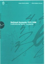 National Accounts 1991-1998. Institutional Sector Accounts - SSB