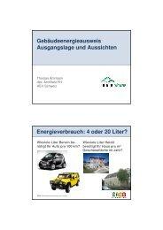 Gebäudeenergieausweis der Kantone - RESO Partners AG