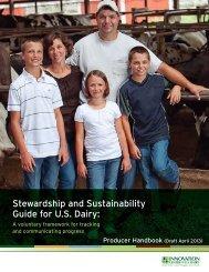 Producer Handbook - Innovation Center for US Dairy
