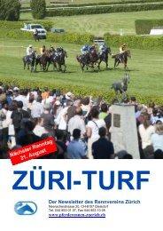 Newsletter Juni 2011 - Rennverein Zürich