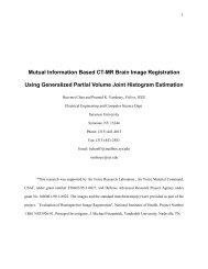 Mutual Information Based CT-MR Brain Image Registration Using ...