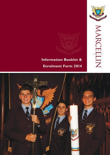 Download Enrolment Booklet - Marcellin College