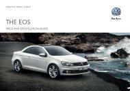 The eos - Volkswagen UK
