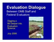 Evaluation Dialogue Briefing Slides - The White House