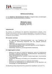 Staatliche Studienakademie Dresden Heideparkstr