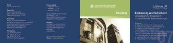 07 - Steuern in Forschung und Praxis eV