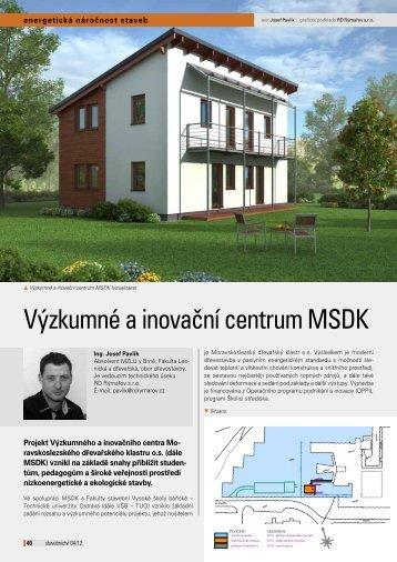 článek, ke stažení - Moravskoslezský dřevařský klastr