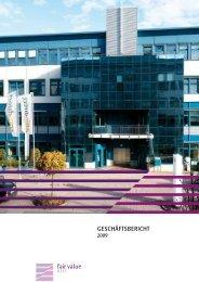 Geschäftsbericht 2009 - Fair Value REIT-AG