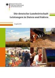 Die deutsche Landwirtschaft Leistungen in Daten und Fakten - BMELV