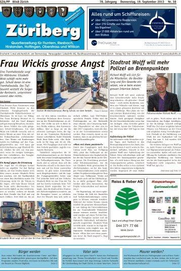 Frau Wickis grosse Angst - Lokalinfo AG