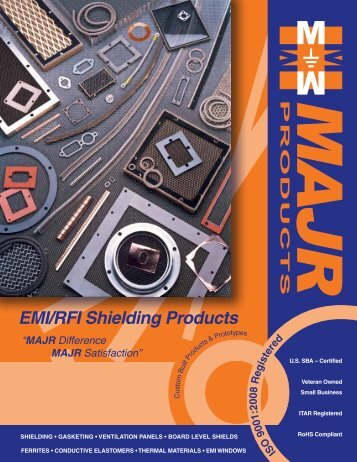 EMI/RFI Shielding Products - RfMW