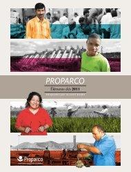 Télécharger les éléments clés 2011 - Proparco