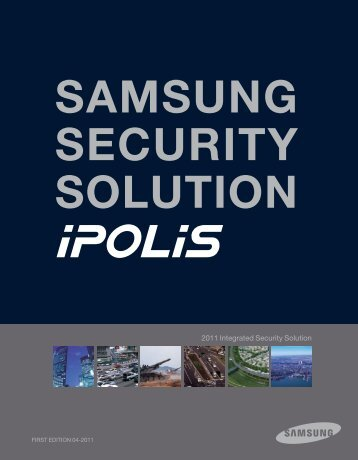 Samsung Techwin iPolis Camera Range - Use-IP