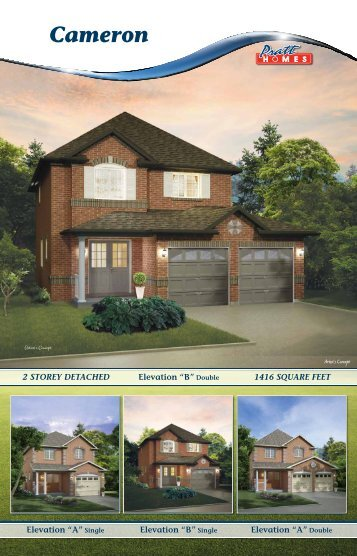 Cameron - Pratt New Homes Innisfil