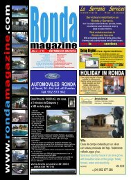 Ronda Magazine - Setup Digital
