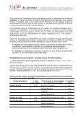 Los hospitales españoles dieron de alta a 4.487.816 enfermos ... - Page 3
