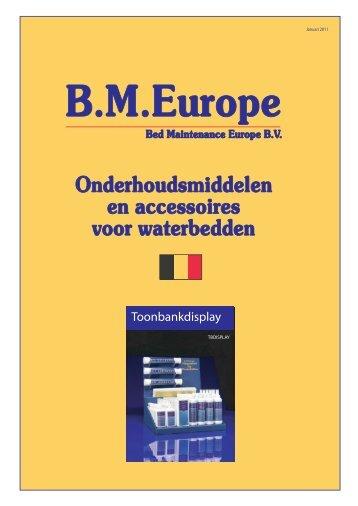 B voorpagina - Onderhoud voor waterbed zoals waterbedconditioner
