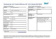 Factsheet der Joh. Friedrich Behrens AG - 8,0 ... - Börse Stuttgart