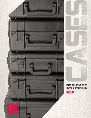 2012 UK OEM Case Catalog - USA English - Underwater Kinetics