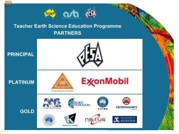 Teacher Earth Science Education Programme - Geoscience Pathways