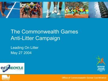 Presentation title - Sustainability Victoria