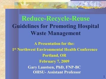 Environmental Awareness in Nursing